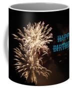 Fireworks Birthday Coffee Mug