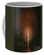 Fireworks Display Over Lake Union  Coffee Mug