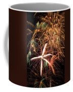 Fireworks Exploding Everywhere Coffee Mug by Garry Gay