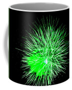 Fireworks In Green Coffee Mug