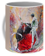 Fireworks In The Bullring Coffee Mug