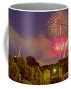 Fireworks Over St Louis Coffee Mug