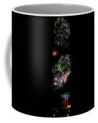 Fireworks Over The Bay Coffee Mug