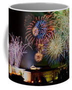 Fireworks Over The Museum Coffee Mug