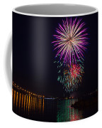 Fireworks Over The York River Coffee Mug