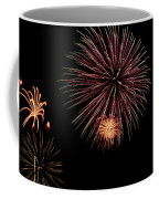 Fireworks Panorama Coffee Mug