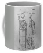 First Gas Pump Patent Drawing Coffee Mug