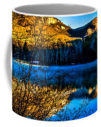 First Light At Pinnacle Lake Coffee Mug