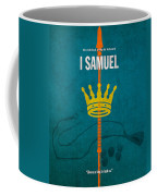 First Samuel Books Of The Bible Series Old Testament Minimal Poster Art Number 9 Coffee Mug by Design Turnpike