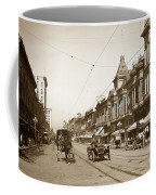 First Street Downtown San Jose California Circa 1905 Coffee Mug