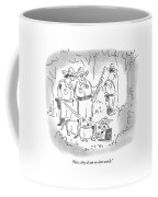 First, They Do An On-line Search Coffee Mug