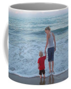 First Time At The Beach Coffee Mug