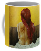 First Women In Bed Coffee Mug