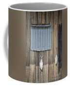 Fish Drying Outside Fisherman House Coffee Mug