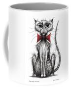 Fish Face The Cat Coffee Mug