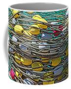 Fish Net Hdr Coffee Mug