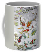 Fish Pond V2					 Coffee Mug