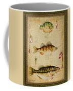 Fish Trio-c-green Coffee Mug