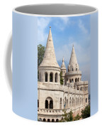 Fisherman Bastion In Budapest Coffee Mug