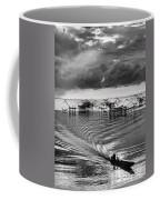 Fisherman Returns Home Coffee Mug