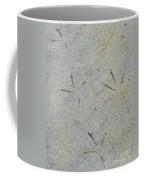 Fishermans Foot Prints Coffee Mug