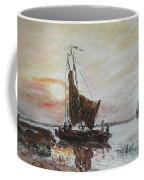 Fishermens Sunset Coffee Mug