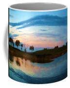 Fisheye Sunset Coffee Mug