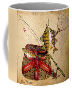 Fishing Basket  Coffee Mug