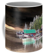 Fishing Boat Dock - Ketchican - Alaska - Photopower 02 Coffee Mug