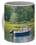 Fishing Boat Cape Neddick Maine Coffee Mug