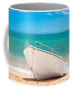 Fishing Boat On The Beach Algarve Portugal Coffee Mug