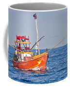 Fishing Boat  Sri Lanka Coffee Mug