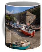 Fishing Boats At Mullion Cove Coffee Mug