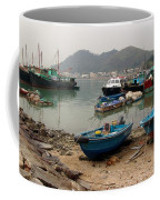 Fishing Boats - Hong Kong Coffee Mug
