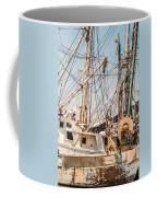Fishing Boats In Harbour Coffee Mug