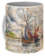 Fishing Boats In La Rochelle Coffee Mug by Paul Signac