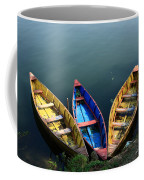 Fishing Boats - Nepal Coffee Mug