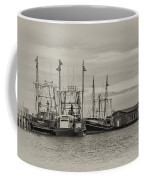 Fishing Boats - Wildwood New Jersey Coffee Mug
