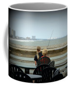 Fishing Buddies Coffee Mug by Kathy Barney