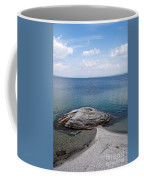 Fishing Cone Geyser In West Thumb Geyser Basin Coffee Mug