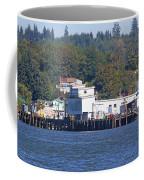 Fishing Docks On Puget Sound Coffee Mug
