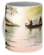 Fishing For Bass - Greenbrier River Coffee Mug