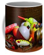 Fishing - Freshwater Tackle Coffee Mug by Paul Ward
