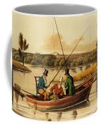 Fishing In A Punt Coffee Mug