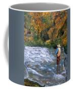 Fishing In The Fall Coffee Mug