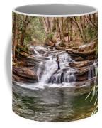 Fishing Mill Creek Falls In West Virginia Coffee Mug by Dan Friend