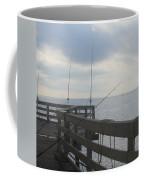 Fishing Off Rodanthe Pier Coffee Mug