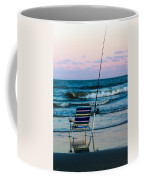 Fishing On The Beach Coffee Mug