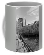 Fishing On The Harbor Coffee Mug