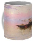 Fishing On The Lagoon, Venice, C.1890 Coffee Mug